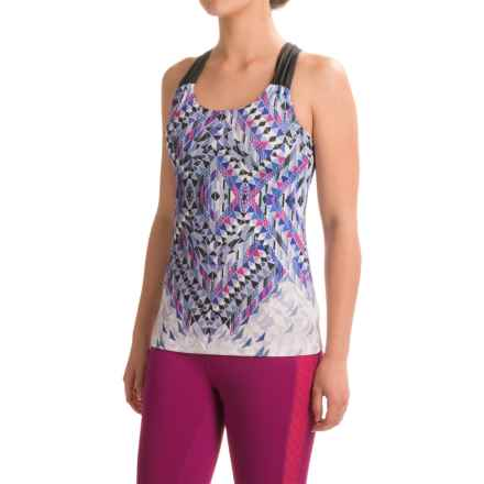 prAna Phoebe Tank Top - Built-In Bra, Racerback (For Women) in Indigo Firefly - Closeouts