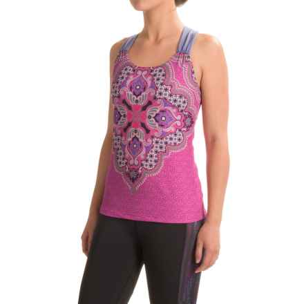 prAna Phoebe Tank Top - Built-In Bra, Racerback (For Women) in Orchid Haze - Closeouts