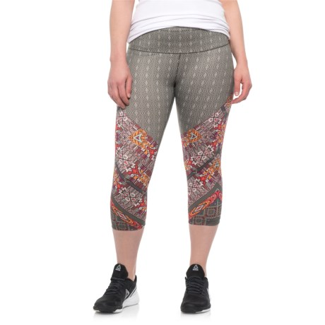 62cab502bff6f prAna Pillar Printed Capris (For Women) in Cargo Marrakesh