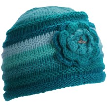 prAna Pixie Flower Beanie Hat (For Women) in Blue - Closeouts