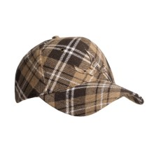 prAna Plaid Cap (For Men) in Khaki - Closeouts