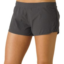 prAna Poppy Running Shorts (For Women) in Charcoal - Closeouts