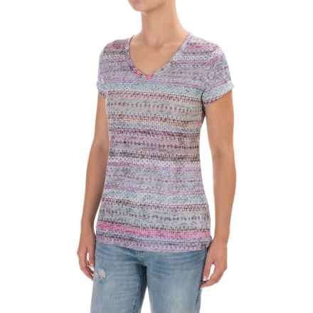 prAna Portfolio T-Shirt - Short Sleeve (For Women) in Bora Bay Maya - Closeouts