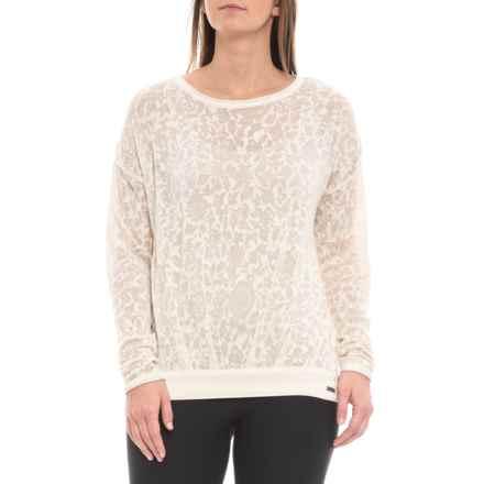 prAna Prairie Grove Sweater - Organic Cotton Blend (For Women) in Bone - Closeouts