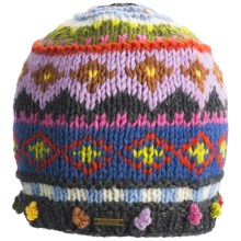 prAna Priscilla Beanie Hat - Wool, Fleece Lining (For Women) in Dusk - Closeouts