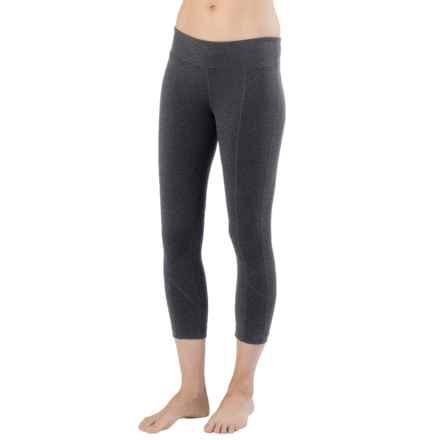 prAna Prism Capris - Supplex® Nylon, Mid Rise (For Women) in Charcoal Heather - Closeouts