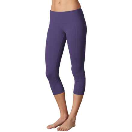 prAna Prism Capris - Supplex® Nylon, Mid Rise (For Women) in Indigo - Closeouts