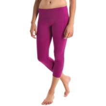 prAna Prism Capris - Supplex® Nylon, Mid Rise (For Women) in Rich Fuchsia - Closeouts