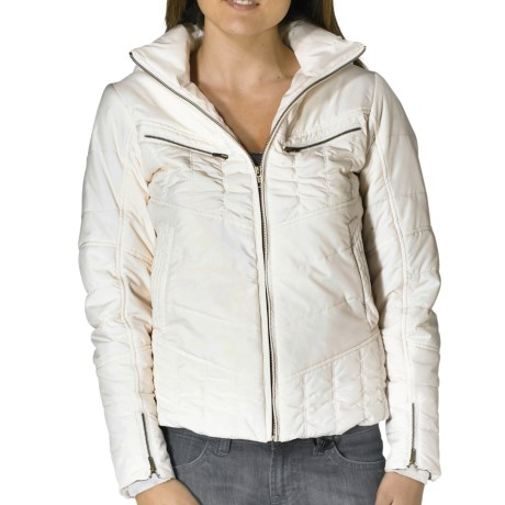 prAna Quilted Powder Parka Jacket - Insulated (For Women) in Winter
