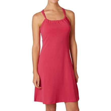 prAna Quinn Dress - Recycled Materials, Sleeveless (For Women) in Azalea - Closeouts