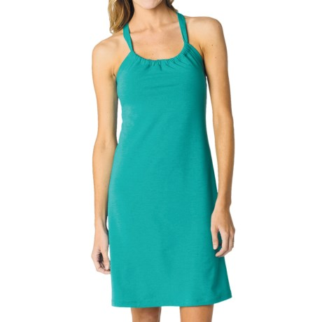 prAna Quinn Dress - Recycled Materials, Sleeveless (For Women) in Dragonfly