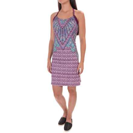 prAna Quinn Dress - Recycled Materials, Sleeveless (For Women) in Grapevine Samba - Closeouts