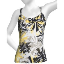 prAna Quinn Top - Sleeveless (For Women) in Beluga Burst Print - Closeouts
