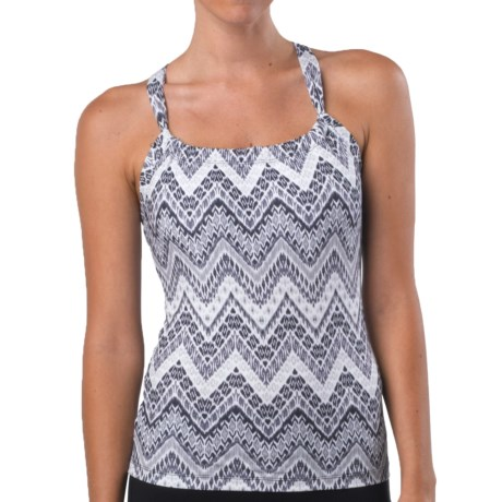 prAna Quinn Top - Sleeveless (For Women) in Black Tempo