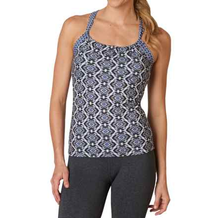 prAna Quinn Top - Sleeveless (For Women) in Gravel Guava - Closeouts