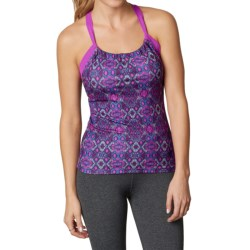 prAna Quinn Top - Sleeveless (For Women) in Viola Charmer