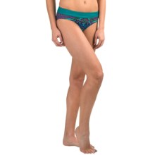 prAna Ramba Swimsuit Bottoms - UPF 30+ (For Women) in Dragonfly Tiki - Closeouts