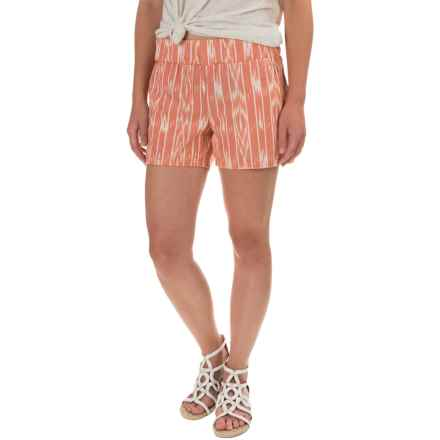 prAna Reba Shorts - Organic Cotton (For Women) in Koi - Closeouts