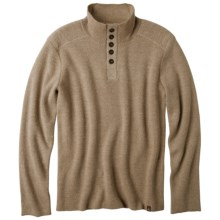 prAna Redford Sweater (For Men) in Khaki Heather - Closeouts