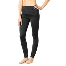 prAna Remy Leggings - Skirt Overlay (For Women) in Black - Closeouts