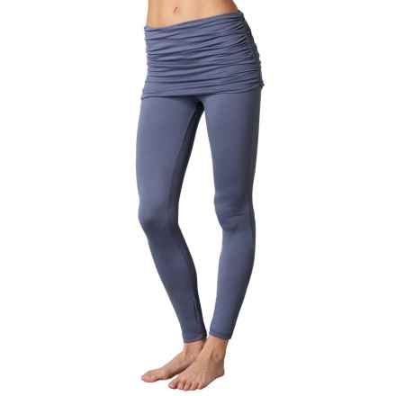 prAna Remy Leggings - Skirt Overlay (For Women) in Gray Indigo - Closeouts