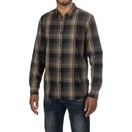 prAna Rennin Shirt - Long Sleeve (For Men) in Black - Closeouts