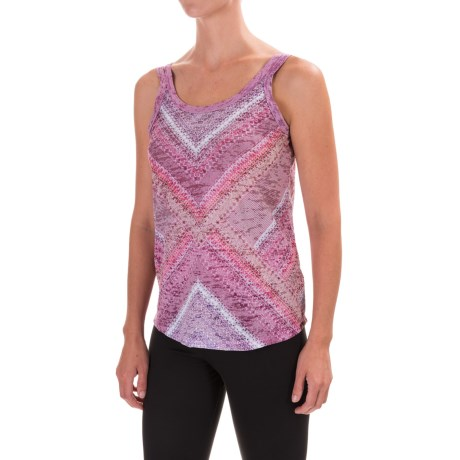 prAna Restore Tank Top (For Women) in Cosmo Pink