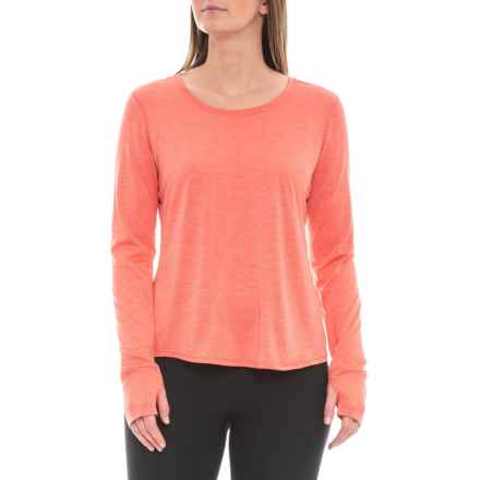 prAna Revere Shirt - Long Sleeve (For Women) in Rhubarb - Closeouts
