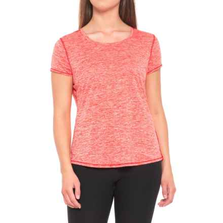 prAna Revere T-Shirt - Short Sleeve (For Women) in Fiery Red - Closeouts