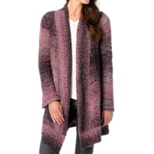 prAna Rhonda Duster Cardigan Sweater - Open Front (For Women) in Mahogany - Closeouts