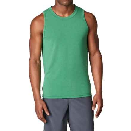 prAna Ridge Tech Tank Top - UPF 50+ (For Men) in Dusty Pine - Closeouts