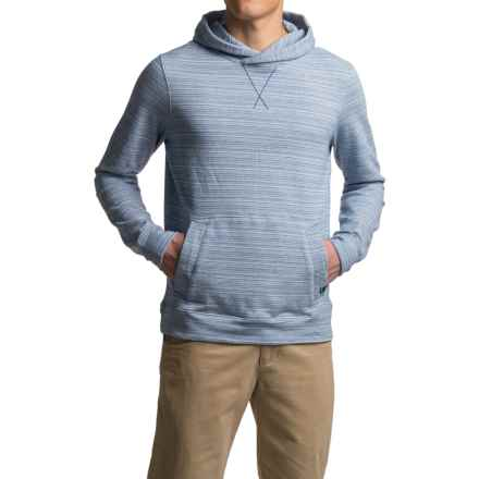 prAna Rincon Hoodie - Organic Cotton (For Men) in Vintage Cobalt - Closeouts