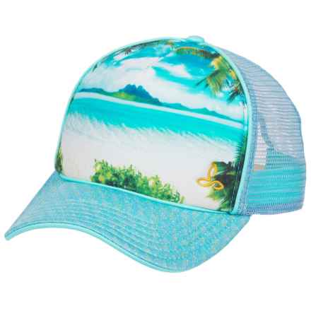 prAna Rio Baseball Cap (For Women) in Surf Blue - Closeouts