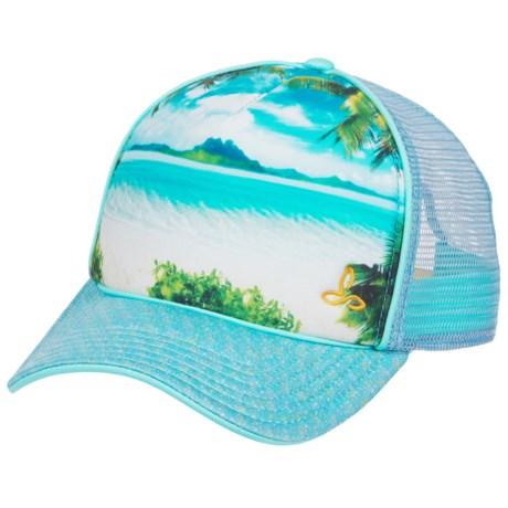 prAna Rio Baseball Cap (For Women) in Surf Blue