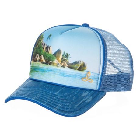 b6cfb04e prAna Rio Trucker Hat (For Women) in Island Blue