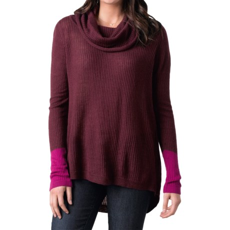 prAna Rochelle Sweater Wool Blend, Cowl Neck (For Women)