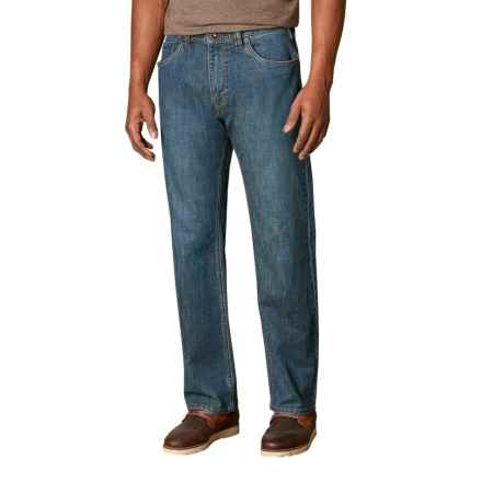 prAna Rogan Jeans - Relaxed Fit (For Men) in Antique Stone Wash - Closeouts