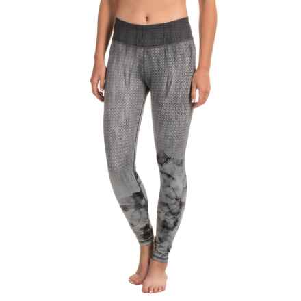 prAna Roxanne Printed Leggings - Slim Fit (For Women) in Black Bloom - Closeouts