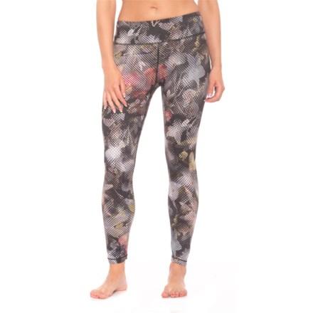 2cf446efe7c42f prAna Roxanne Printed Leggings - Slim Fit (For Women) in Black Digi Flower -