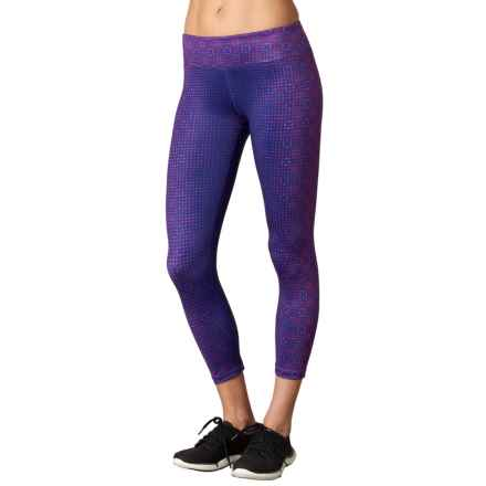 prAna Roxanne Printed Leggings - Slim Fit (For Women) in Grapevine Bali - Closeouts