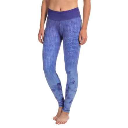 prAna Roxanne Printed Leggings - Slim Fit (For Women) in Lavender Bloom - Closeouts