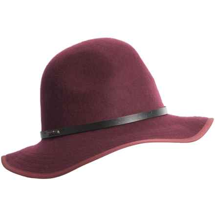 prAna Ruth Hat - Wool (For Women) in Eggplant - Closeouts