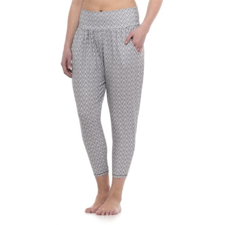 prAna Ryley Crop Pants (For Women) in Moonrock Compass