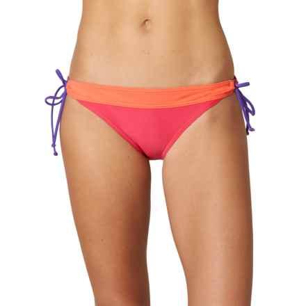 prAna Saba Bikini Bottoms - UPF 50+, Low Rise (For Women) in Azalea - Closeouts