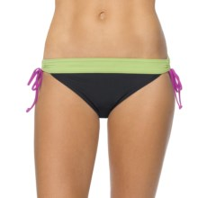 prAna Saba Bikini Bottoms - UPF 50+, Low Rise (For Women) in Black - Closeouts