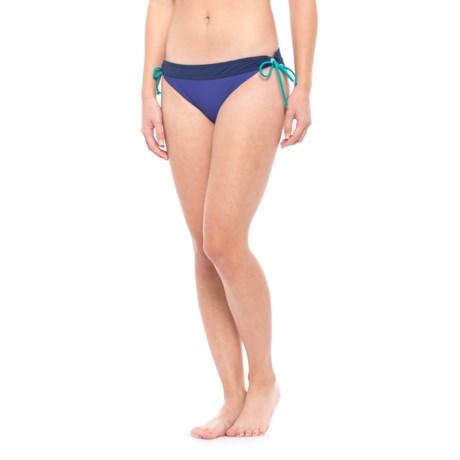 prAna Saba Bikini Bottoms - UPF 50+, Low Rise (For Women) in Cobalt