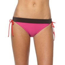 prAna Saba Bikini Bottoms - UPF 50+, Low Rise (For Women) in Festival Pink - Closeouts