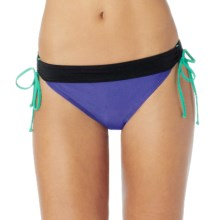 prAna Saba Bikini Bottoms - UPF 50+, Low Rise (For Women) in Sail Blue - Closeouts