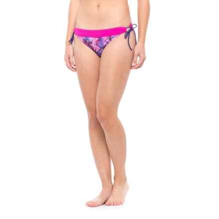 prAna Saba Bikini Bottoms - UPF 50+, Low Rise (For Women) in Supernova Pinwheel - Closeouts