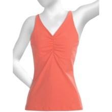 prAna Sabin Tank Top - Racerback (For Women) in Coral - Closeouts